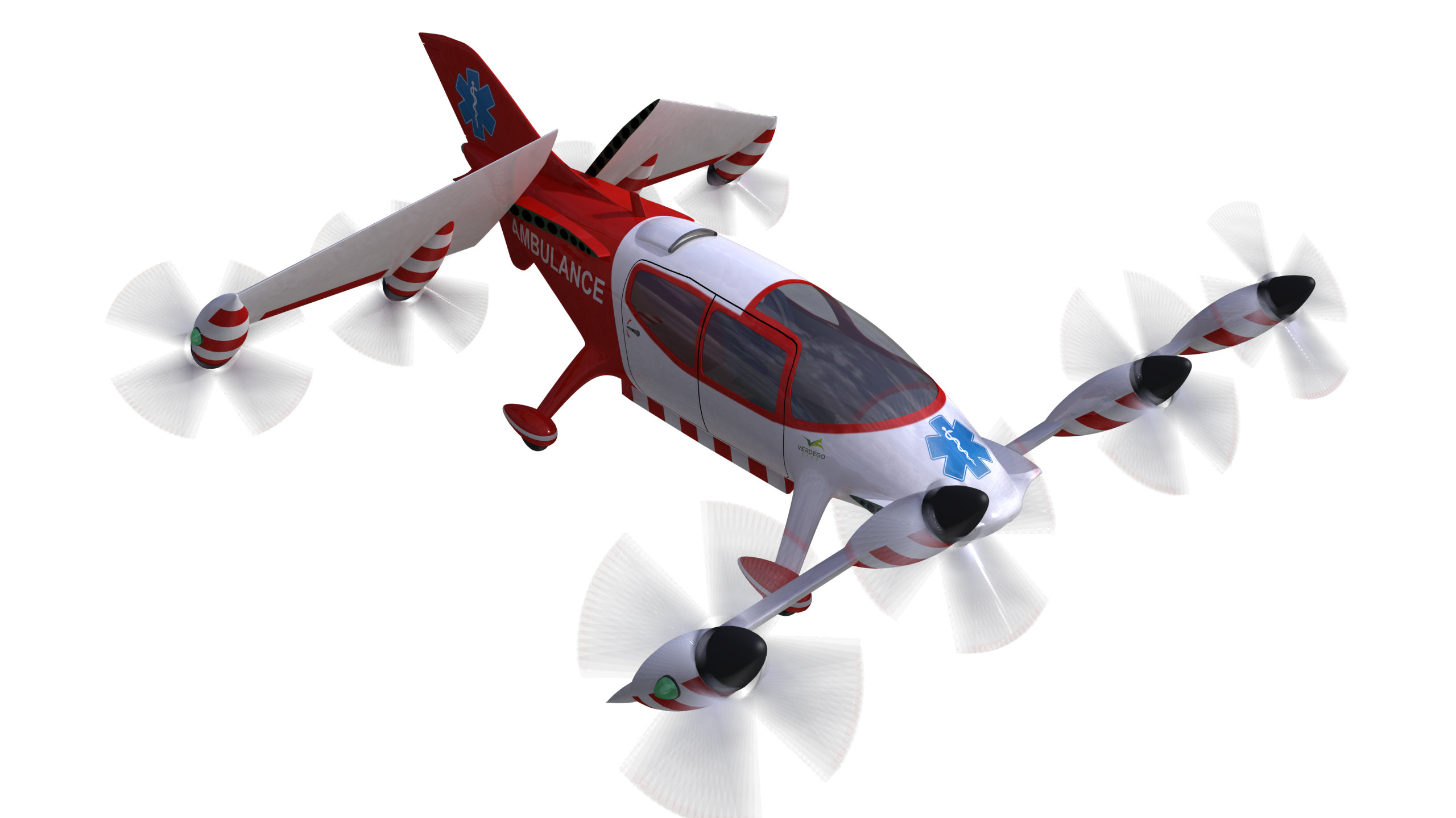 urban air taxi VerdeGo Medical PAT200