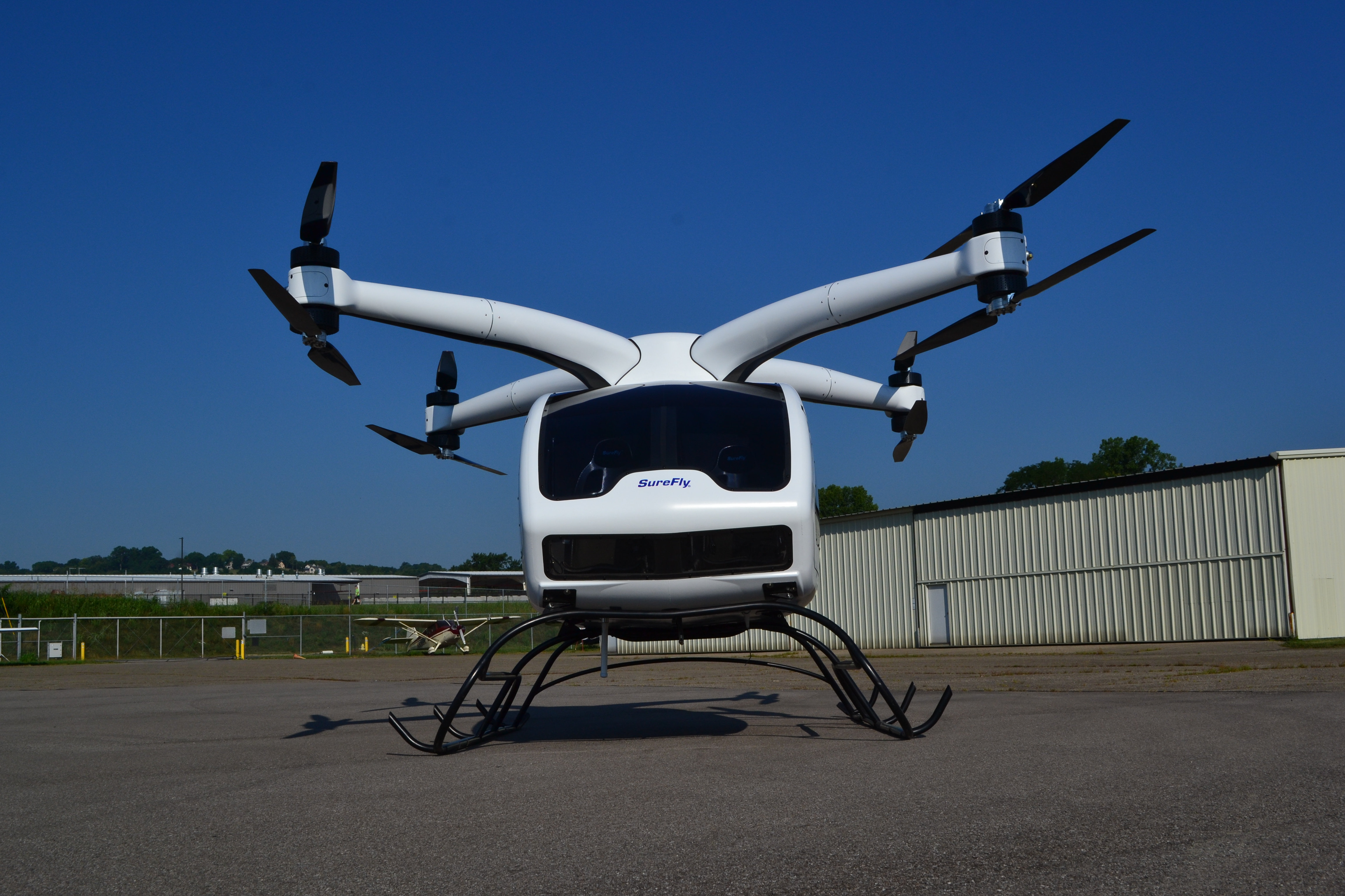 urban air taxi Workhorse SureFly Front